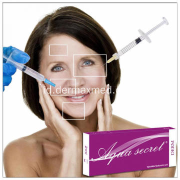 Injeksi Hyaluronic Acid Dermal Filler Anti-Aging Wrinkles